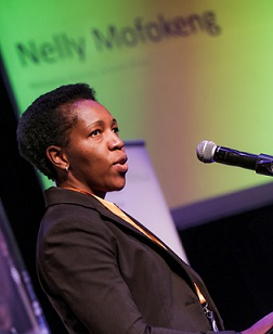 Nelly Mofokeng attended Accelerating Inclusive Youth Employment conference