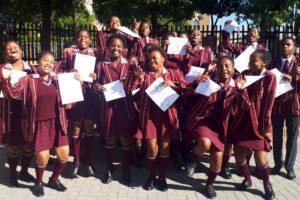 JASA Success Skills graduates at Liberty Community College